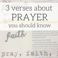 3 verses about prayer you should know