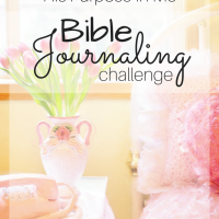 Bible Journaling Weekly Challenge