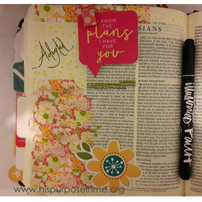 Bible Journaling Gods Purposes Prevails2