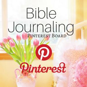 Bible Journaling Pinterest Board