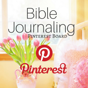 Bible Journaling Pinterest Board