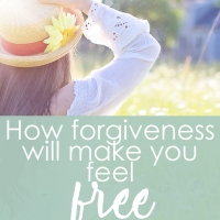 How forgiveness will make you feel free