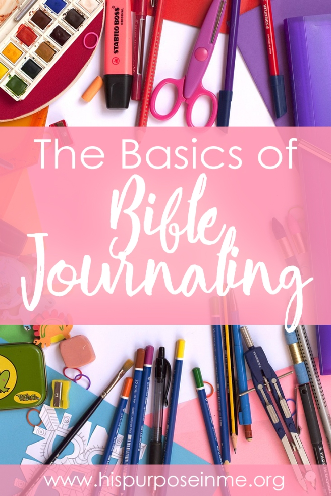 The Basics of Bible Journaling