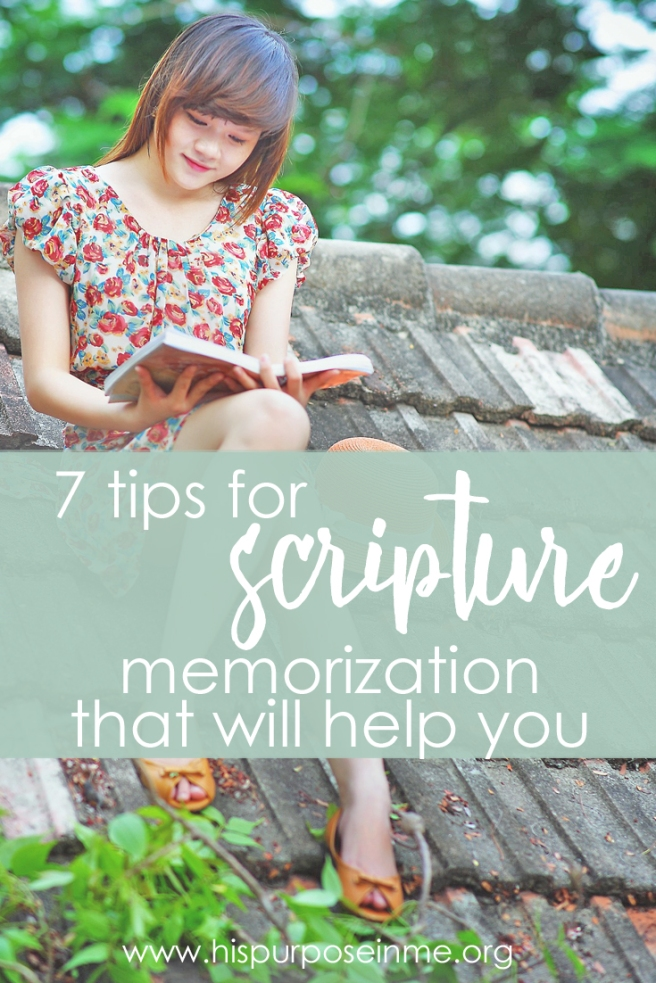 7 tips for scripture memorization that will help you