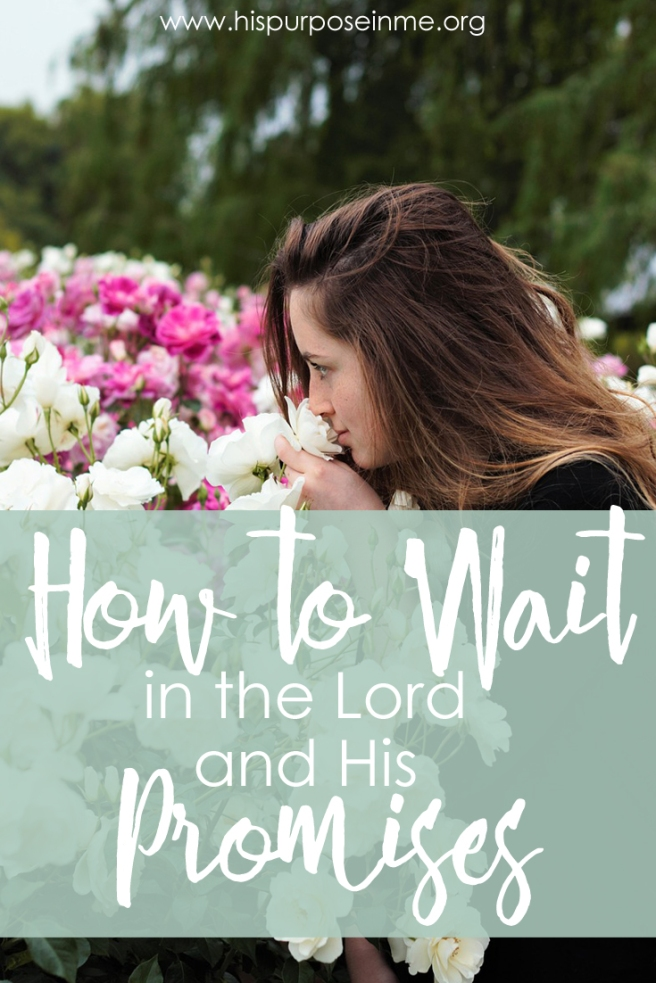 How to wait in the Lord and His promises