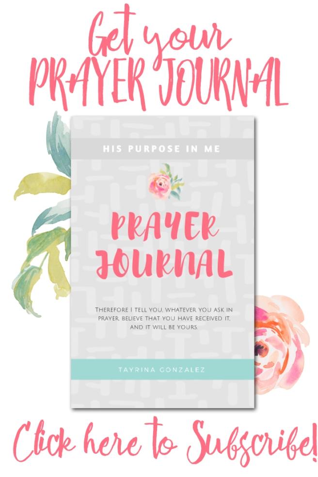 Prayer Journal Subscribe