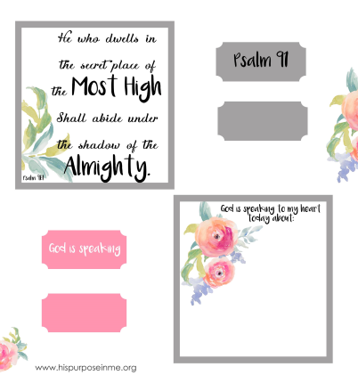 bible journaling cards and tabs