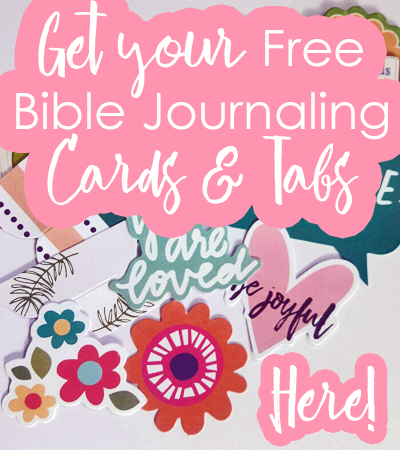 Free Bible Journaling Cards and Tabs