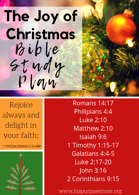 Christmas is around the corner and in this season we remember and celebrate Jesus. The bible invites us to celebrate Christ all the time. And even more those who have known him and confessed him as Lord and Savior.I'm happy to share today a short Bible study on joy in the Christmas season because of the Savior of the world.