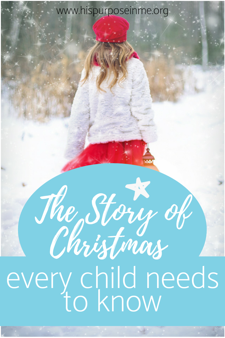 Christmas is a great season, full of light, decorations, good food and much more. We do enjoy all of that, especially the kids when they receive gifts and spend time with family too. That is good! But there is something much better. It's a time where we can teach the little ones the significance and real meaning of the season. I share with you today a beautiful book that help us (the parents) to teach our kids the story of christmas every child needs to know.