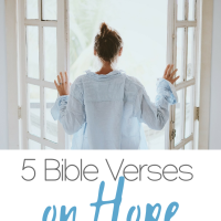 5 Bible Verses on Hope to start your year