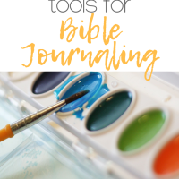 5 easy to use tools for bible journaling