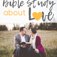 1 Week Bible Study about Love