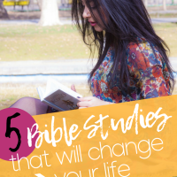 5 Bible Studies that will change your life
