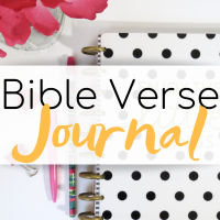 Bible Verse Journal