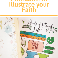 3 Bible Journaling Printables to Illustrate your Faith