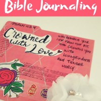 How to make your own index cards for Bible Journaling