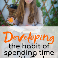 Developing the habit of spending time with God - Giveaway