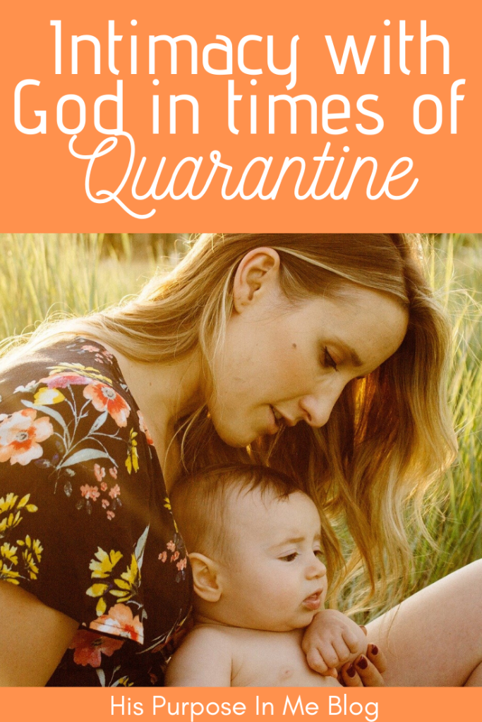 We already know what we are all experiencing. It is not an easy situation for each of us. However, I have always thought that at difficult times we should get the best out of it. Today, after a long time not blogging, I want to share a little about my quarantine season and how I have been able to have a time of greater intimacy with God.